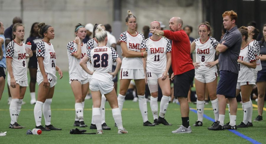 Samuel+Goldberg+looks+ahead+at+the+womens+soccer+season.+Photo+Credit%3A+RMU+Athletics