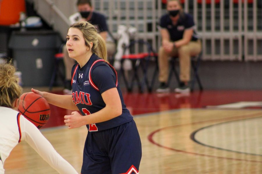 Mackenzie Amalia and the Colonials will have a home-and-home with St. Bonaventure this season. Photo Credit: Tyler Gallo/Colonial Sports Network