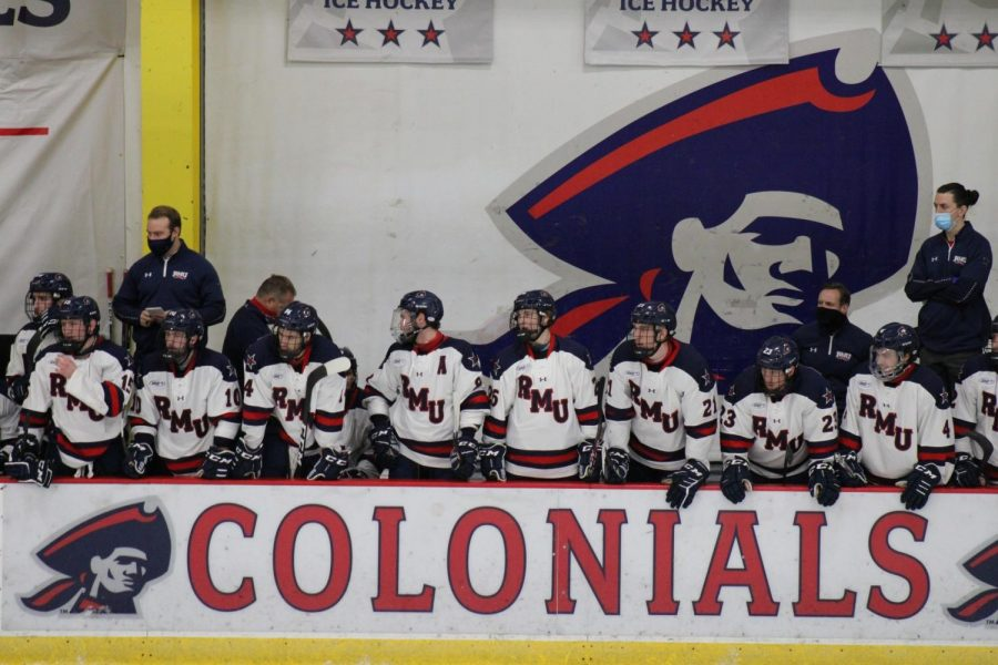 RMU hockey will not be reinstated for the 2021-22 season. Photo Credit: Nathan Breisinger/Colonial Sports Network