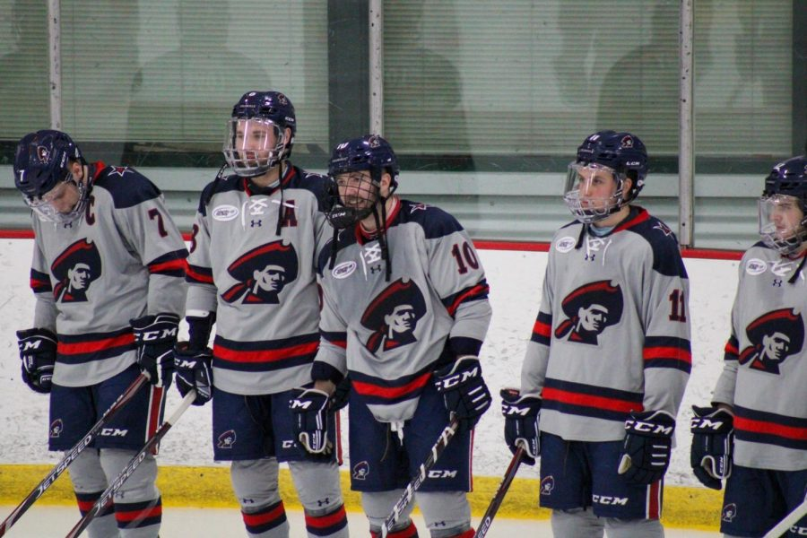 Owen Krepps takes a look at how the hockey teams could initially shape up for a return. Photo Credit: Nathan Breisinger/Colonial Sports Network