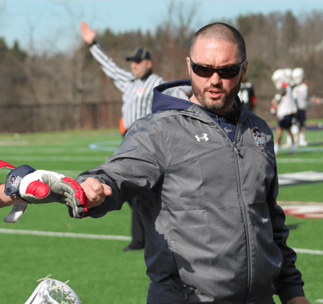 Former mens lacrosse coach Andrew McMinn has been named head coach of RMUs conference foe Utah. Photo Credit: RMU Athletics