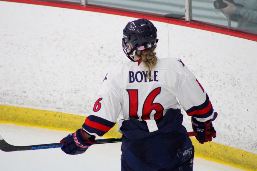 Former RMU women's hockey player Michaela Boyle has been named the Executive Director of the Boston Lady Whalers.