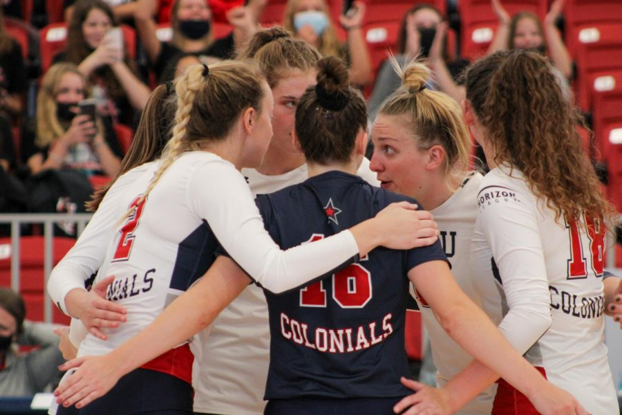 Colonials swept in Horizon League opener against Cleveland State