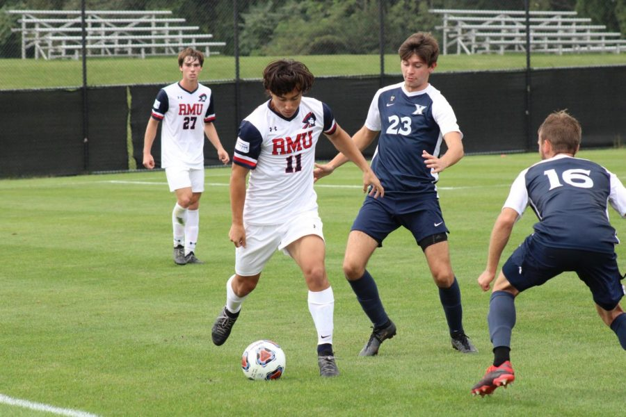 Men's soccer shut out again, lose to Xavier 1-0