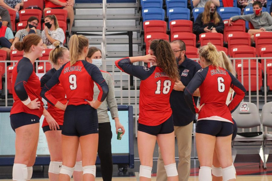 Colonials swept by red-hot Raiders; drops fourth in a row