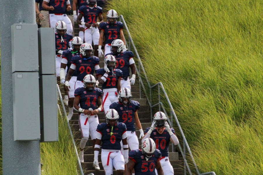 RMU Football gets set to host Charleston Southern for Homecoming.